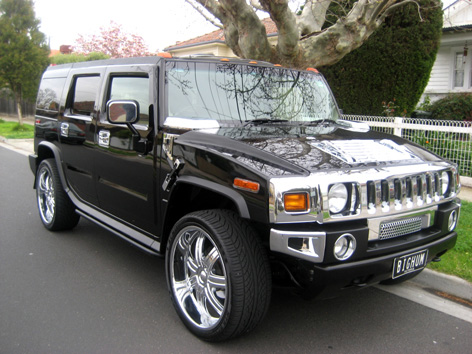 Hummer hire is the best way to impress your friends