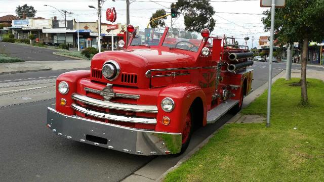12 seater Fire truck - GREAT for Kids parties and HENs nights