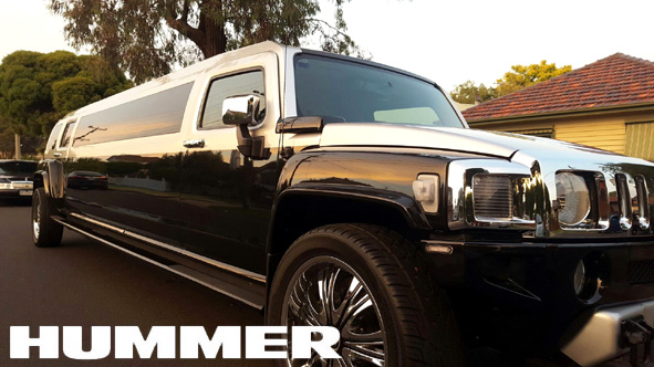 Sretch Hummer limousine hire service Melbourne at fantastic prices